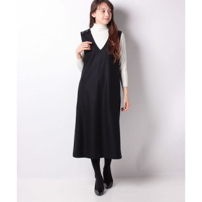 Leilian 【特別提供品】ロング丈ジャンパースカート
