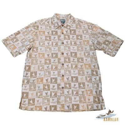 20%OFFセール Kahala 【カハラ アロハシャツ】 本物のメイドインハワイアロハブランド クラブクロウ