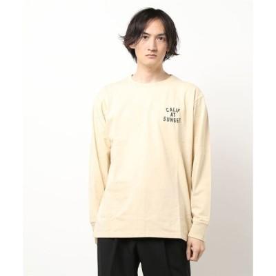 tシャツ Tシャツ 【Bl】サーフテイストバックプリント ロンT