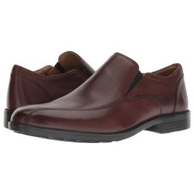 ボストニアン メンズ スリッポン・ローファー シューズ Birkett Step Brown Leather