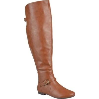 ジュルネ コレクション Journee Collection レディース ブーツ シューズ・靴 Loft Boot - Wide Calf Chestnut