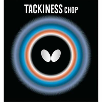 バタフライ 卓球ラバー(レッド 中) タキネス チョップ BUT-05450-006-C 返品種別A