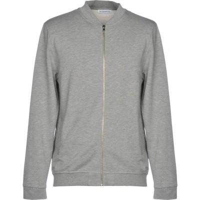 オルタナティヴ ALTERNATIVE メンズ スウェット・トレーナー トップス Sweatshirt Light grey