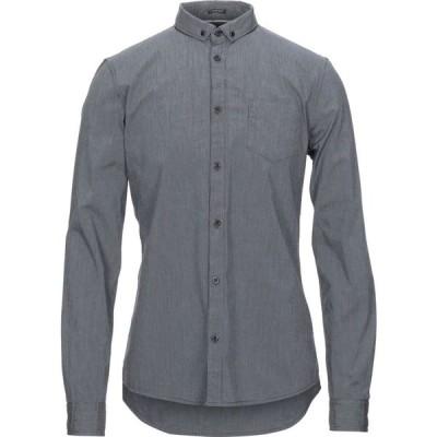 ゲス GUESS メンズ シャツ トップス solid color shirt Steel grey