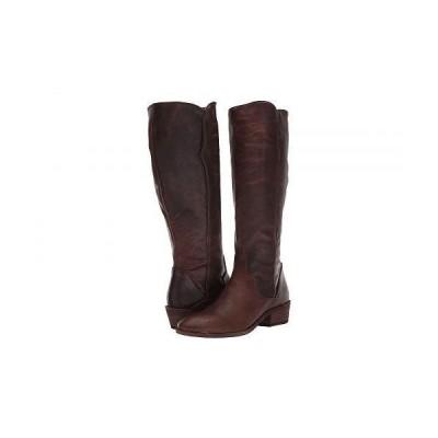 Frye フライ レディース 女性用 シューズ 靴 ブーツ ロングブーツ Carson Piping Tall - Dark Brown Extended