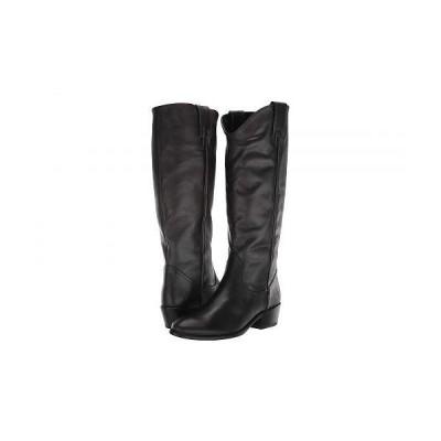 Frye フライ レディース 女性用 シューズ 靴 ブーツ ミッドカフ Carson Pull-On - Black Leather Extended