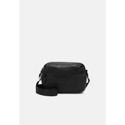 リプレイ メンズ ショルダーバッグ SOFT BAG UNISEX - Across body bag - black