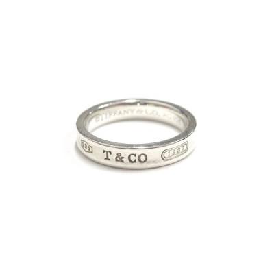 【中古】ティファニー TIFFANY & CO. 1837 リング 指輪 アクセサリー ジュエリー SV925 シルバー メンズ レディース ◆6 【ベクトル 古着】