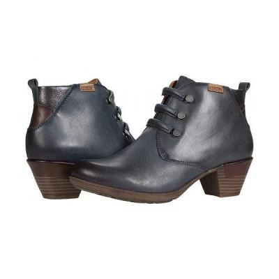 Pikolinos レディース 女性用 シューズ 靴 ブーツ アンクル ショートブーツ Rotterdam 902-8746 - Moon/Ocean Olmo