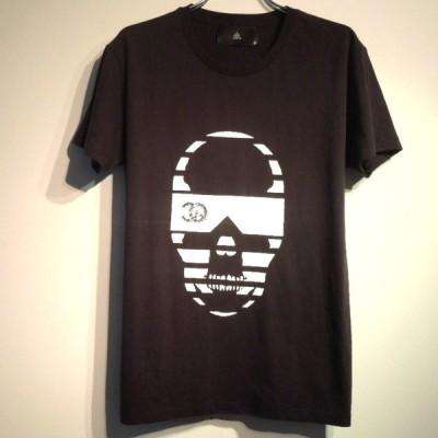 サングラススカル CQスワロフスキー Tシャツ / Black
