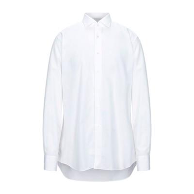 CELLINI シャツ ホワイト 43 コットン 100% シャツ