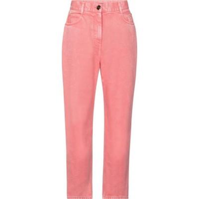 バルマン Balmain レディース ジーンズ・デニム ボトムス・パンツ High-rise straight jeans Rose Moyen