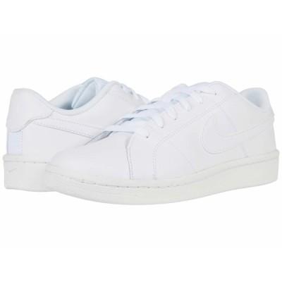 ナイキ スニーカー シューズ メンズ Court Royale 2 Low White/White/White