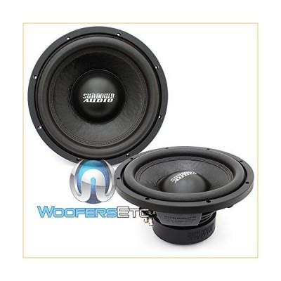 "Pair of E-12 V.3 D4 - Sundown Audio 12"" 500W RMS Dual 4-Ohm EV.3 Series Subwoofers 並行輸入品"