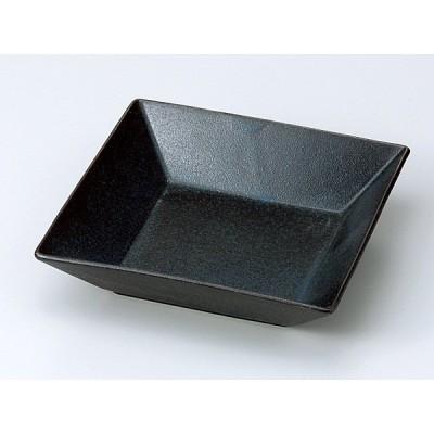 和食器 向こう付け/ 紺斑点 正角鉢(中) /業務用 懐石料理 会席 向付