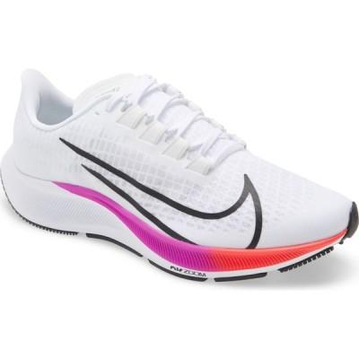 ナイキ NIKE メンズ ランニング・ウォーキング エアズーム シューズ・靴 Air Zoom Pegasus 37 Running Shoe White/Flash Crimson/Violet