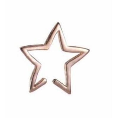 可愛い 星型 スター デザイン ピアス イヤリング アクセサリー ゴールド