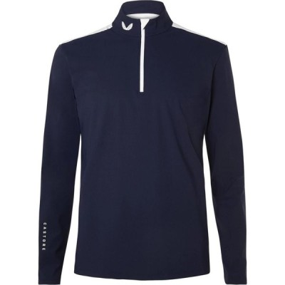 カストル CASTORE メンズ Tシャツ トップス T-Shirt Blue