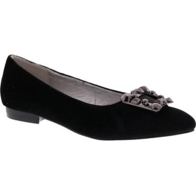 ベリーニ サンダル シューズ レディース Fairy Dress Flat (Women's) Black Velvet