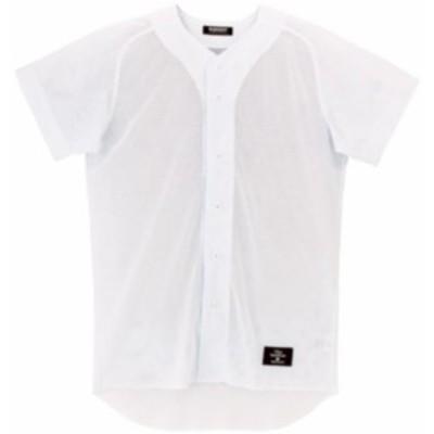 DESCENTE(デサント) 野球 練習用 ボタンダウンシャツ メッシュ素材 SWHT O STD-17T