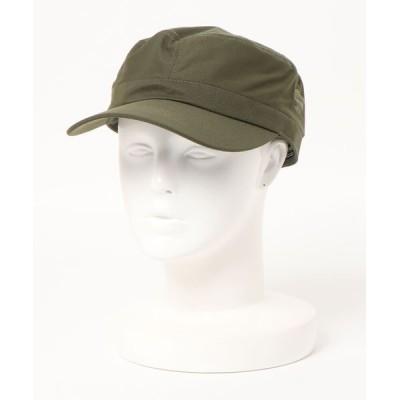 OUTDOOR PRODUCTS / 撥水ワークキャップ ワンポイントブランドロゴ MEN 帽子 > キャップ