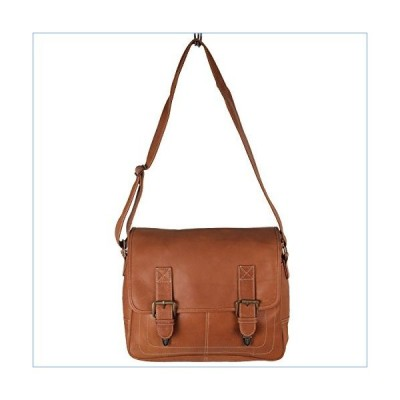 Latico Leathers Adventurer Messenger Bag 100% Leather Handcrafted by Artisans並行輸入品