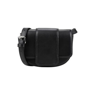 エッセンシャル・アントワープ ESSENTIEL ANTWERP メッセンジャーバッグ ブラック 羊革(ラムスキン) 100% メッセンジャーバッグ