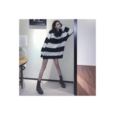 【送料無料】アーリー 秋 レトロ ルース 着やせ 長袖セーター 女 ファッシ | 364331_A63559-3835180