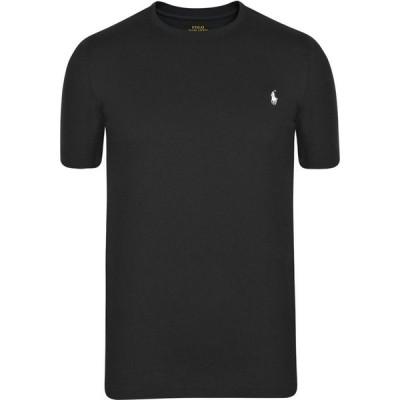 ラルフ ローレン POLO RALPH LAUREN メンズ Tシャツ トップス Short Sleeve Crew Neck Jersey T Shirt Black/White