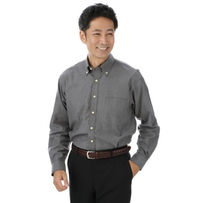 ボタンダウンカジュアルシャツ