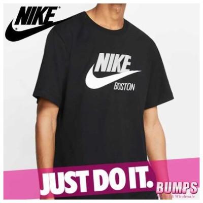 NIKE ナイキ プリントTシャツ 丸首 半袖 メンズ ボストン ロゴ スポーツウェア トップス 新作
