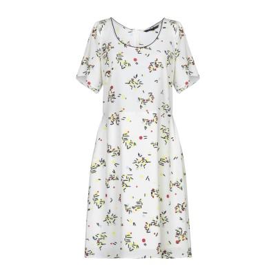 ARMANI EXCHANGE ミニワンピース&ドレス ホワイト 0 ポリエステル 98% / ポリウレタン 2% ミニワンピース&ドレス