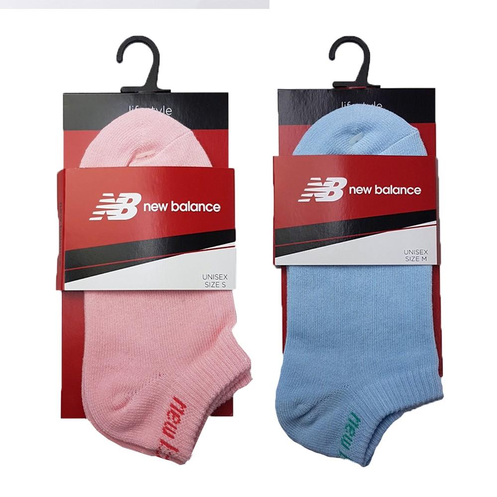 New balance 兩色 基本款 短襪 運動 腳裸襪  7812010-110粉/155藍 Sneakers542