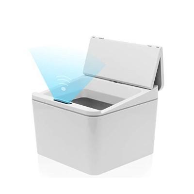YSN 自動開閉 コンパクト ダストボックス (ホワイト)