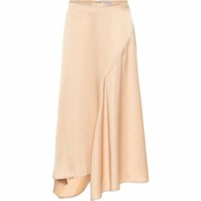 アクネ ストゥディオズ Acne Studios レディース ひざ丈スカート スカート satin midi skirt Pale Orange