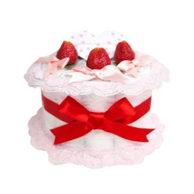 おむつケーキ研究所 いちごおむつケーキ