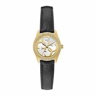 腕時計 ゲス GUESS Guess Women's Micro G Twist U1212L4 Black Leather Quartz Fashion Watch