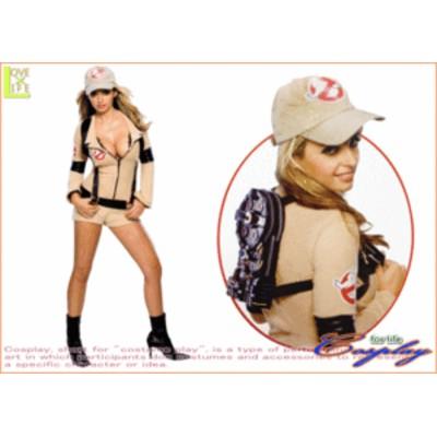 【レディ】【88R8607】セクシー ゴーストバスターズ【Ghostbusters】【仮装】【パーティ】ゴーストバスターズのセクシーコス♪☆当店のコ