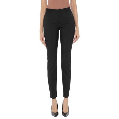 ランバン LANVIN パンツ ブラック 40 ウール 100% / レーヨン / シルク パンツ