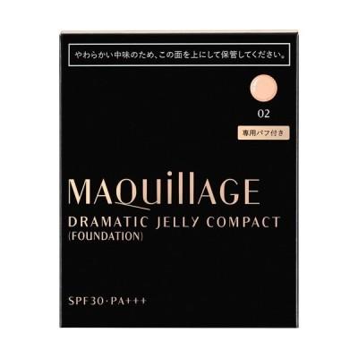 資生堂 マキアージュ ドラマティックジェリーコンパクト 02 (レフィル) SPF30 PA+++ ( 14g )/ マキアージュ(MAQUillAGE)
