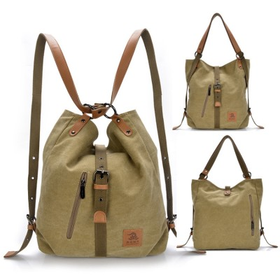リュックバッグトートバッグ ハンドバッグ ショルダーバッグ カバン 鞄 キャンバス バッグ レディース 2way 帆布 出張 旅行 大容量