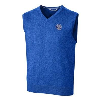 """メンズ ジャケット """"Air Force Falcons"""" Cutter & Buck Lakemont Vault Logo Vest - Blue"""