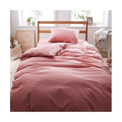 綿100%選べるカラー平織り掛け布団カバー 掛け布団カバー, Bedding Duvet Covers(ニッセン、nissen)