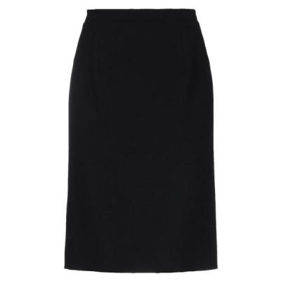 OSCAR DE LA RENTA ひざ丈スカート  レディースファッション  ボトムス  スカート  ロング、マキシ丈スカート ブラック