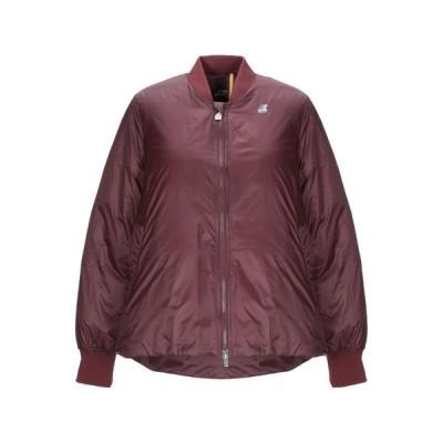 K-WAY ダウン  レディースファッション  ジャケット  ブルゾン、ジャンバー ボルドー