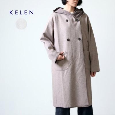 【40% OFF】kelen (ケレン) Shawl Hood Coat Sajyu / ショールフードコート