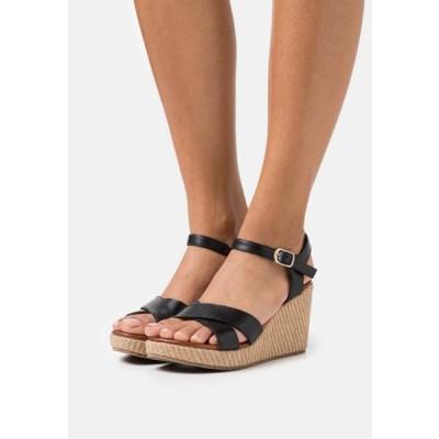アンナフィールド レディース 靴 シューズ LEATHER - High heeled sandals - black