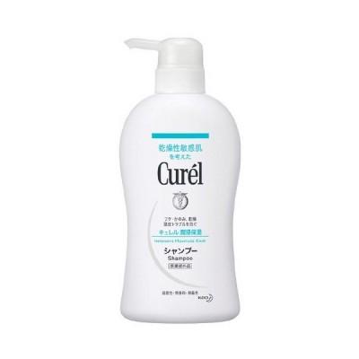 《花王》 Curel キュレル シャンプー ポンプ 420ml 【医薬部外品】 返品キャンセル不可