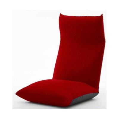 セルタン 日本製 ヘッドリクライニング座椅子 座面ポケットコイル/A578pr-586RE タスクレッド