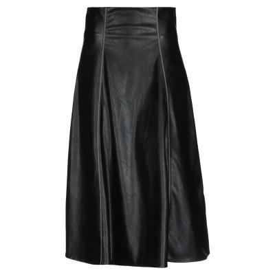 BEATRICE .b 7分丈スカート ブラック 42 ポリウレタン 60% / ポリエステル 40% 7分丈スカート